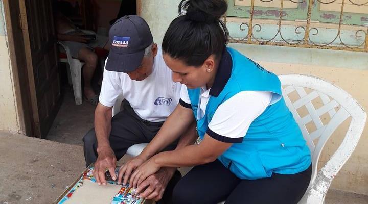 ACTIVIDADES DE LOS BENEFICIARIOS ADULTOS MAYORES.
